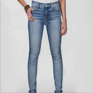 7 For All Mankind Midrise Skinny Jeans